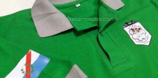 Chomba con Vinilo Termo Textil Impreso