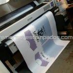 Ploter Plotter Servicio de impresion Camiseta desarmada Papel sublimacion sublimada remerasyestampados.com