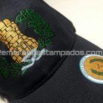 Gorra Bordada Artilleria Roja 6 gajos Poliester Dorso remerasyestampados.com