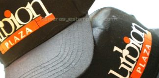 Gorra Publicitaria estampada con Vinilo Termo Textil