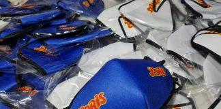 Tapabocas estampados personalizados Loris