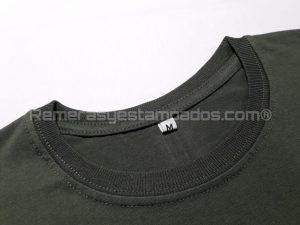 remera lisa cuello premium con tirillera remerasyestampados.com