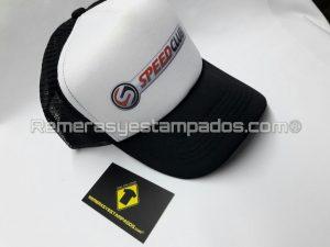 Gorra Trucker Vinilo Termo Impreso SpeedClub 2 remerasyestampados.com
