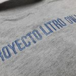 chomba gris melange bordada proyecto litro owl1 remerasyestampados.com
